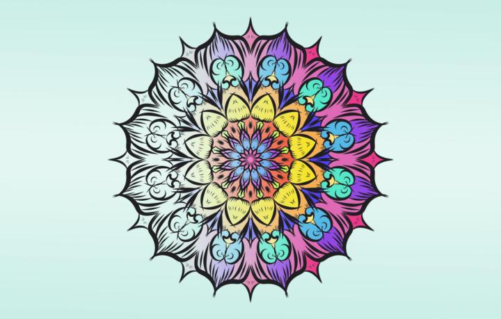 Titelbild für Mandalas zum entspannen - 3 wundervolle Vorlagen Teil 2