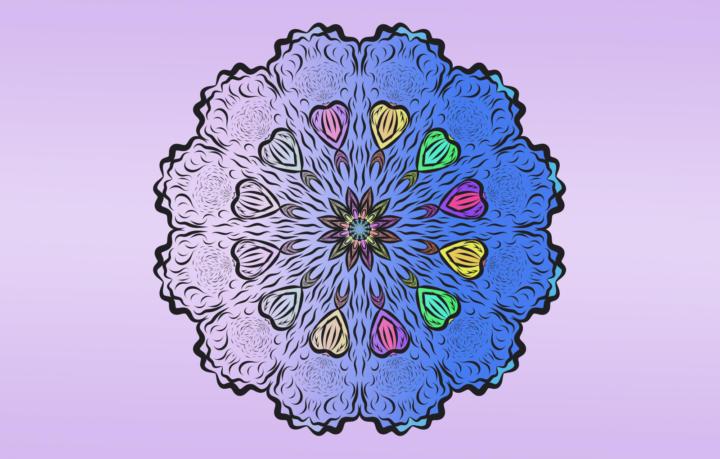Titelbild für Mandalas zum entspannen - 3 wundervolle Vorlagen Teil 3