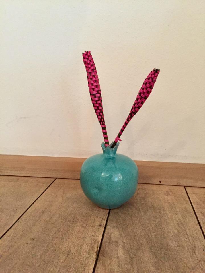duftender Lavendelstab in der Vase