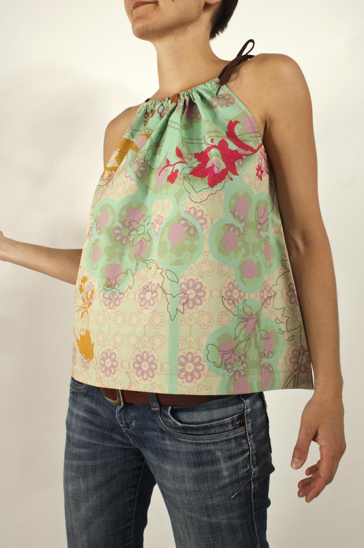 Cooles Damentop oder süßes Kinderkleidchen - eine Anleitung