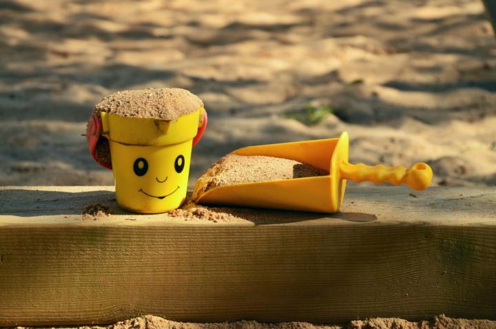DIY-Sandkasten