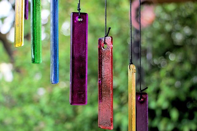 Selbstgemachte Windspiele - 6 Ideen für Garten und Balkon