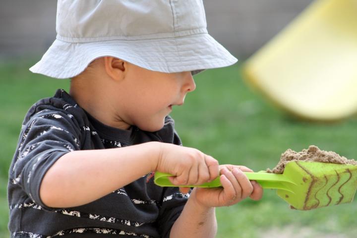 Spielzeug für Kleinkinder selber machen