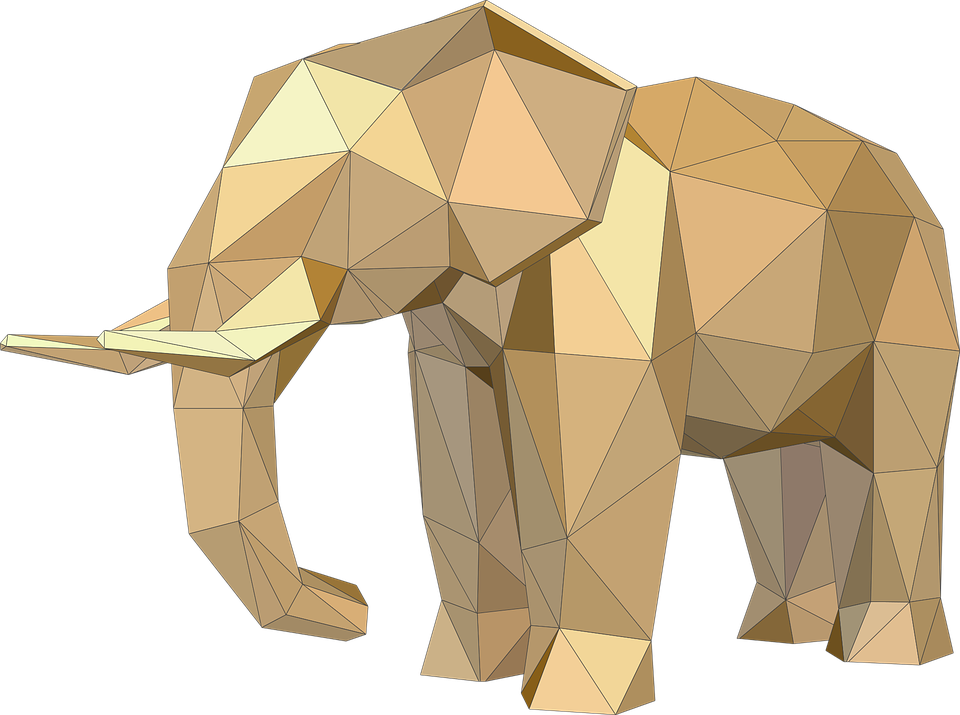 Baby Elephant 3d Papercraft Free Download 8