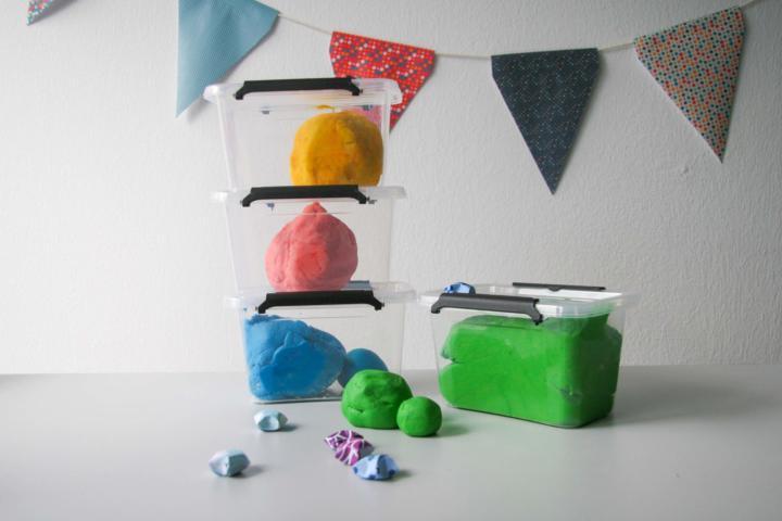 Kunterbunte Knete - kreativer Spaß für Zuhause