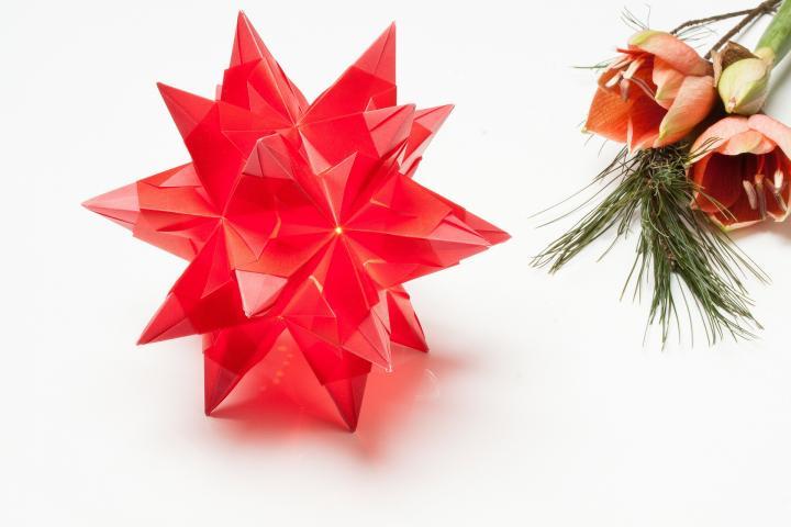 Origami zu Weihnachten - 5 kreative Faltideen