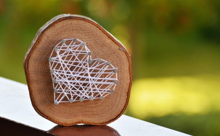 Holzscheiben - 6 DIY-Ideen für eine rustikale Einrichtung