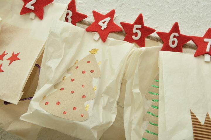 Upcycling Adventskalender - 5 weihnachtliche Basteleien