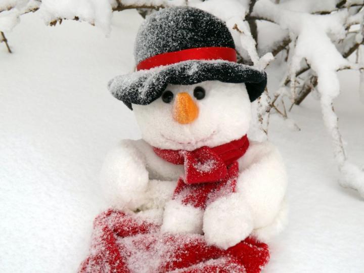 Schneemänner - 5 winterliche Dekorations DIY-Ideen