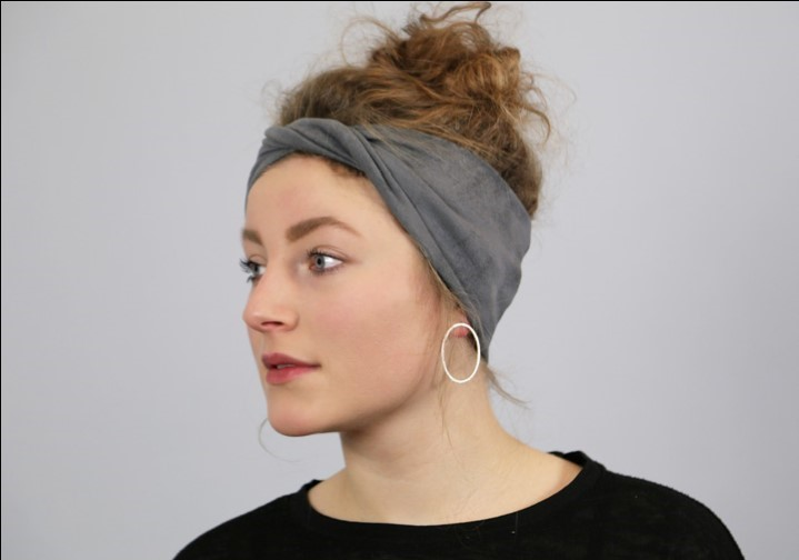 Stirnband FRAU STINA in kurzer Zeit selber nähen