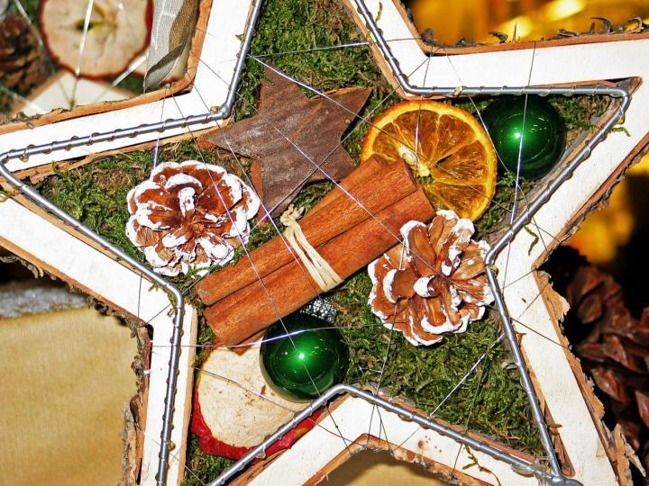 Basteln mit Naturmaterialien im Winter - 6 kreative Ideen