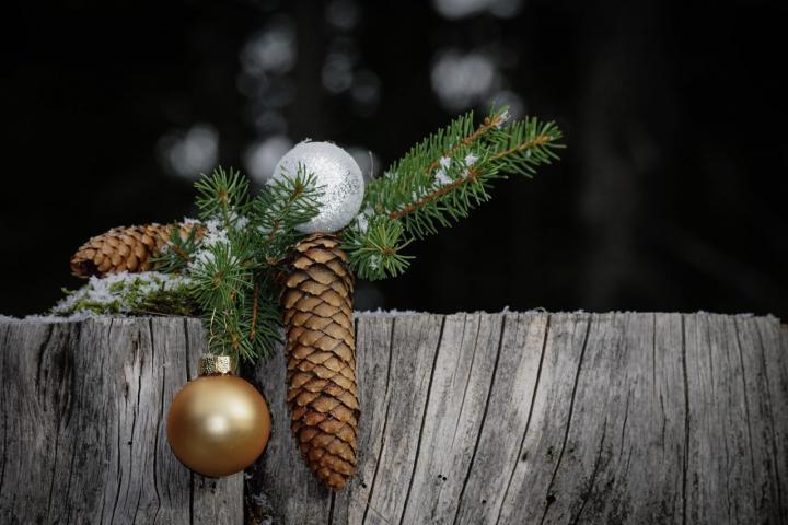 Weihnachtliche Outdoor-Deko - 5 tolle DIY-Ideen