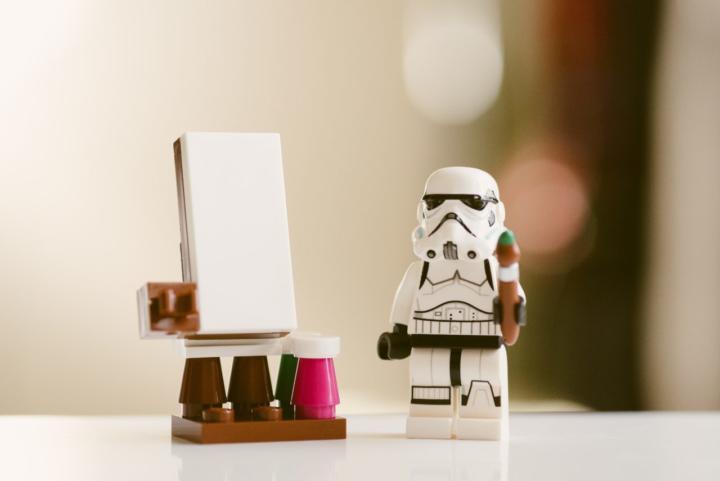 Basteln mit Lego - 7 künstlerische Ideen