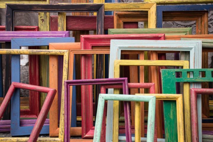 Bilderrahmen Upcycling - 10 stilvolle Ideen