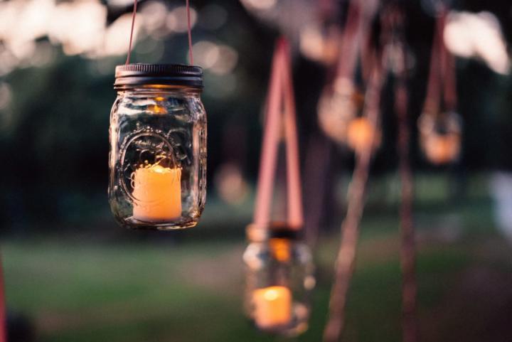 Windlicht selbst gemacht - 6 erleuchtende Ideen