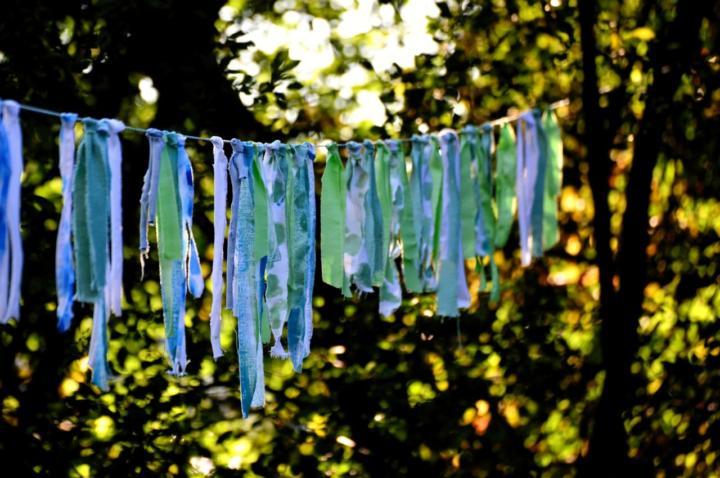 Dekorationen für die Gartenparty - 7 sommerliche Ideen