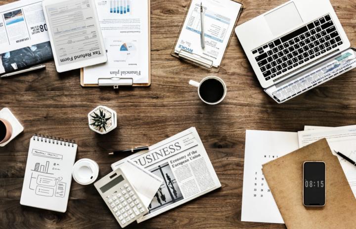 Schreibtischdekoration - 6 schöne und praktische Ideen