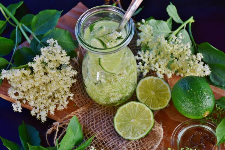Holunderblütensirup selber machen: Rezept