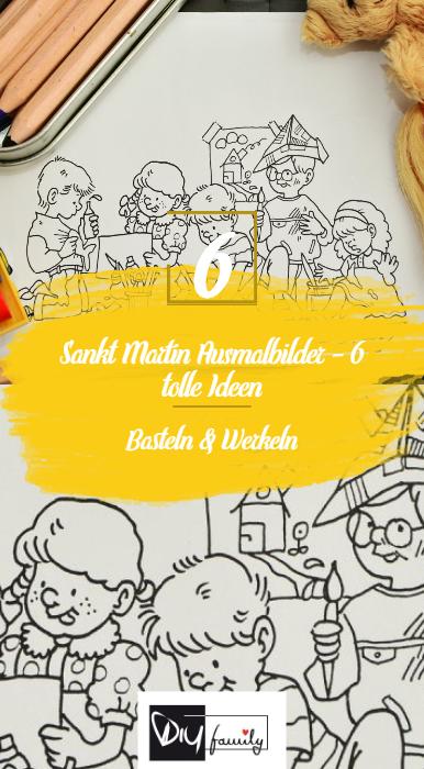 Sankt Martin Ausmalbilder – 6 tolle Ideen - DIY-Family