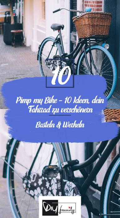 Pimp My Bike 10 Ideen Dein Fahrrad Zu Verschönern Diy