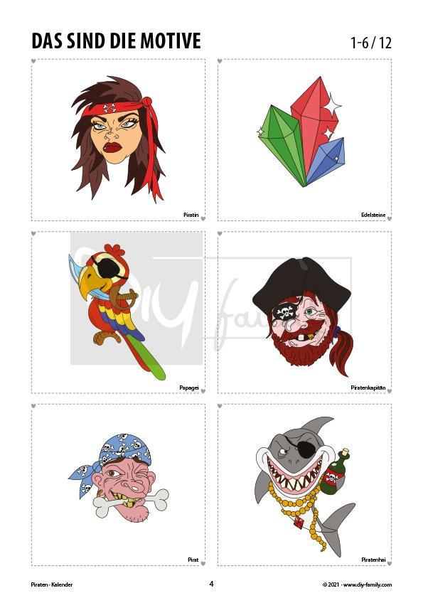Piraten – Kalender 2021