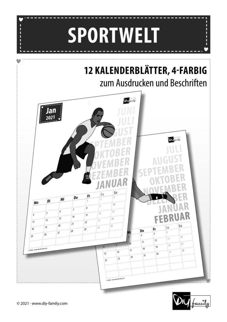 Sportwelt – Kalender 2021